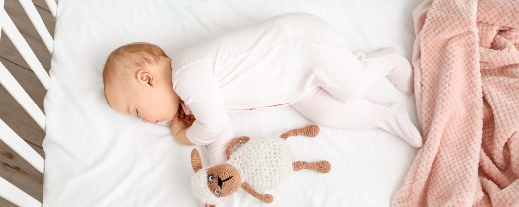 Banner: Die optimale Schlaftemperatur für Babys