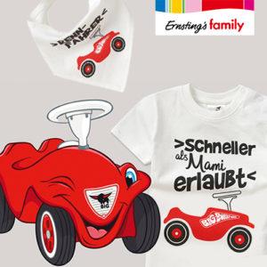 Ernsting's Family: Süße Bobby Car Mode ab 3,99€