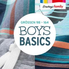 Jungen Basics Größe 98 bis 164