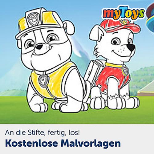Mytoys Gratis Malvorlagen Zu Frozen Paw Patrol Co Meinbaby123 De