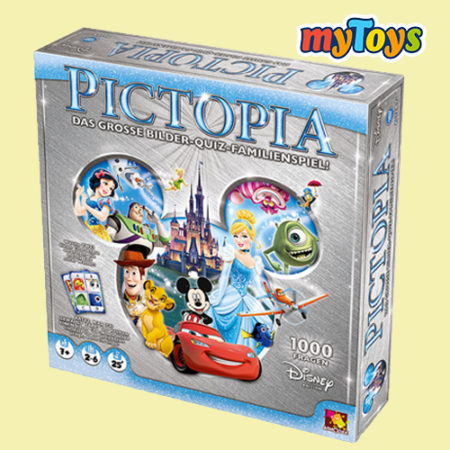 Pictopia Disney Quiz- und Wissenspiel