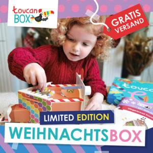 toucanBox: Limitierte Weihnachtseditionen mit Gratis Versand