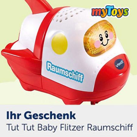 tut tut Babyflitzer Raumschiff