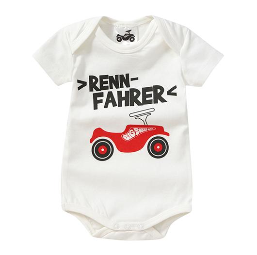 Babybody mit Body Car Print