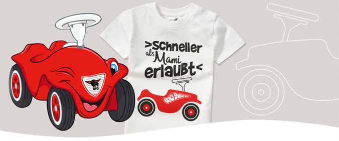 Bobby Car T-Shirt für Kinder