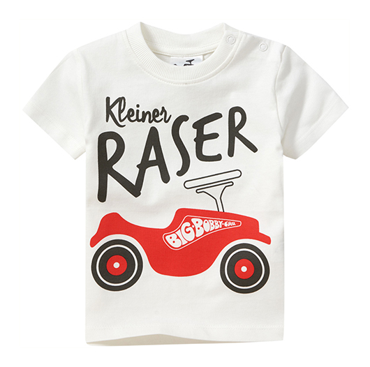 T-Shirt mit Bobby Car Print für Kinder