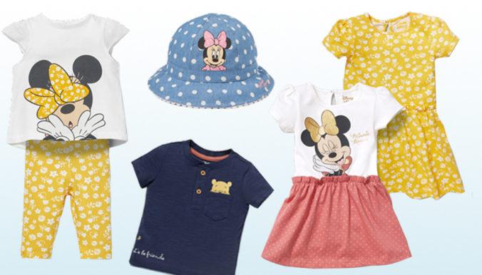 Kindermode mit Minnie Mouse und Winnie Puuh Motiven