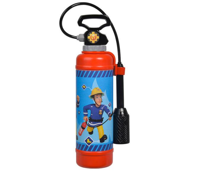 Spielzeug-Feuerlöscher im Feuerwehrmann Sam Design