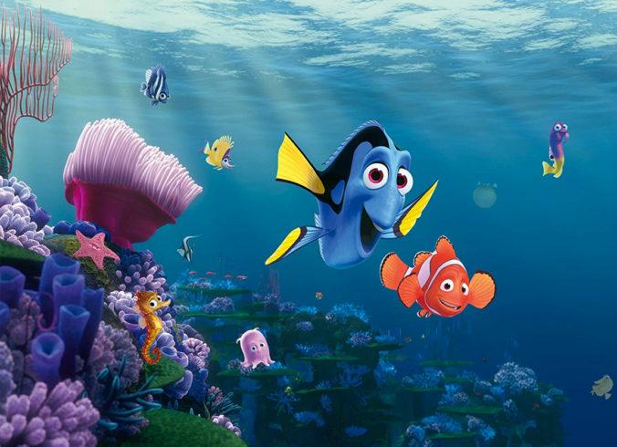 Findet Nemo Tapete