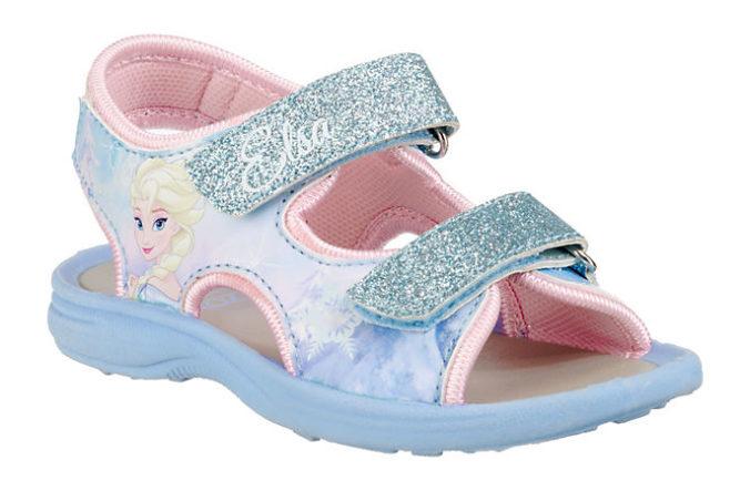 Frozen Sandalen mit Elsa Motiv für Mädchen