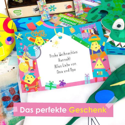 Weihnachtskarte toucanBox