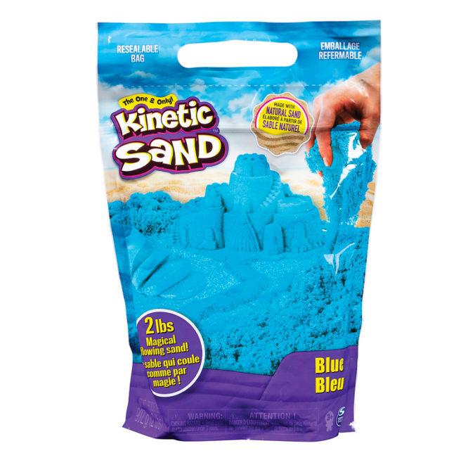 blauer kinetischer Sand
