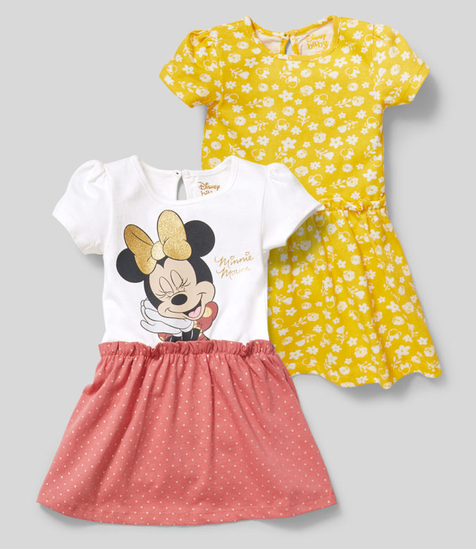 Kleider mit Minnue Mouse Motiv für Kleindkinder