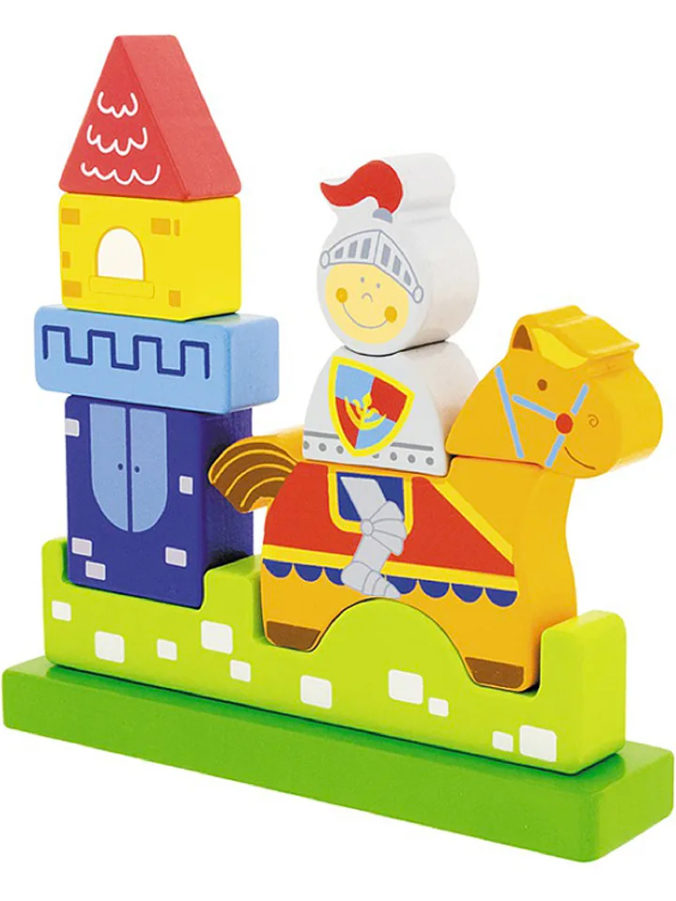 Ritter Magnetpuzzle für Kleinkinder