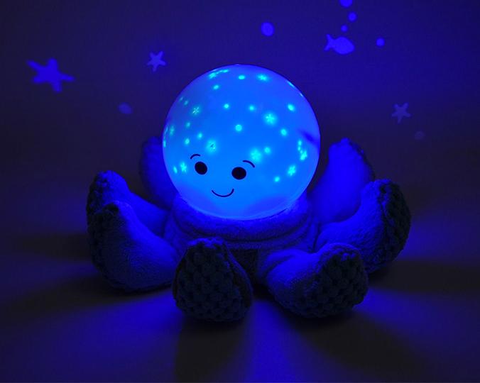 Cloud B Nachtlicht Krake