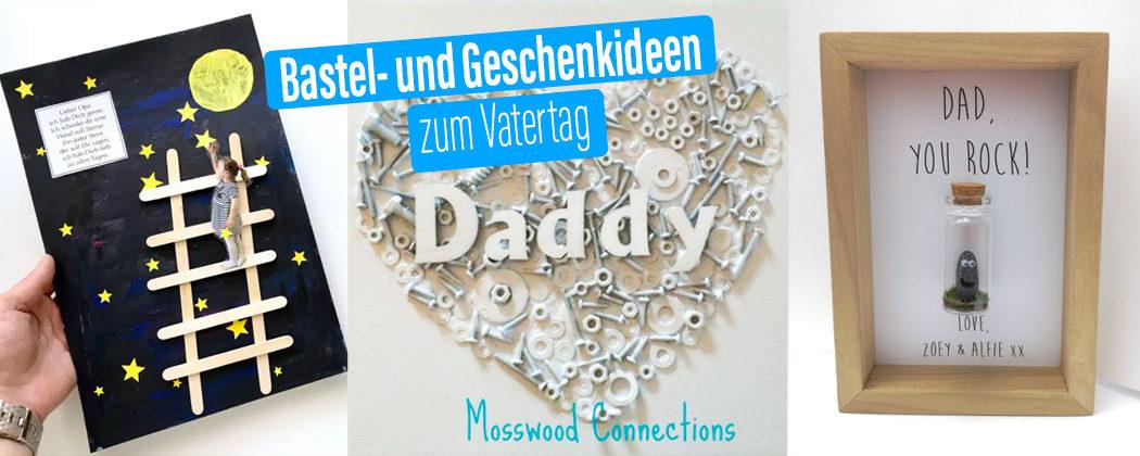 Banner: Bastel- und Geschenkideen zum Vatertag