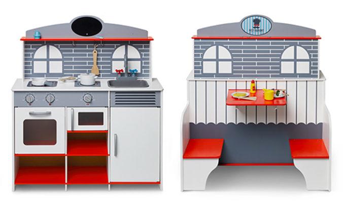 2 in 1 Restaurant und Spielküche in Einem