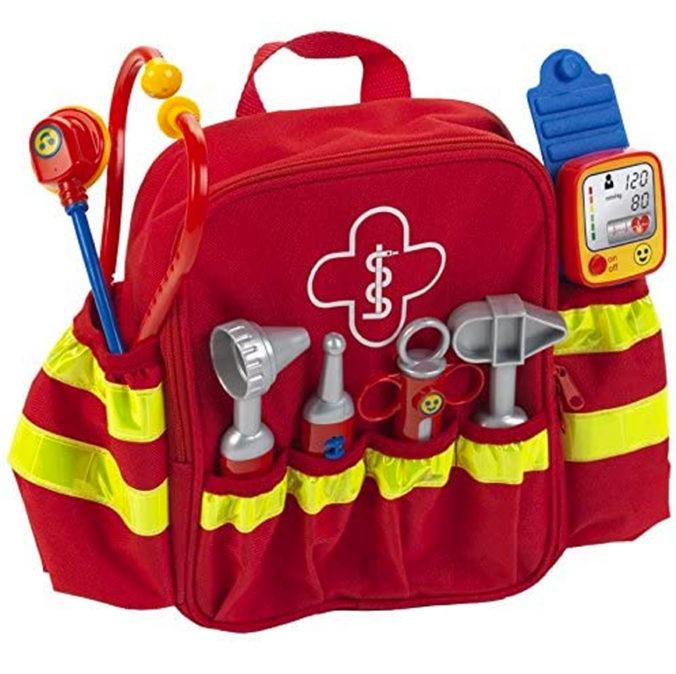 Spielzeug-Rettungsrucksack für Kinder