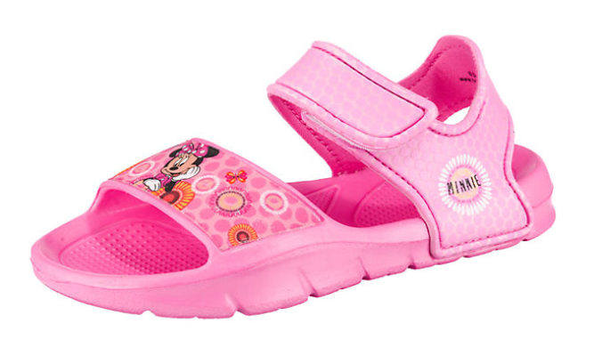 pinke Minnie Mouse Sandalen für Kinder