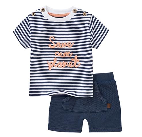 Shorts und T-Shirts für Kleindkinder