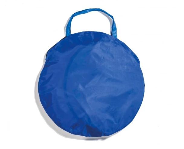 blaue Aufbewahrungstasche für Spielzelt