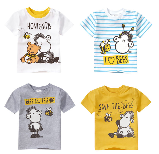 sheepworld T-Shirts mit Bienenmotiven