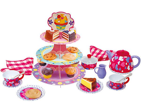 Spielzeug Tee- und Kuchenset