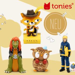 Tonies: Neue Tonie-Figuren im Juni