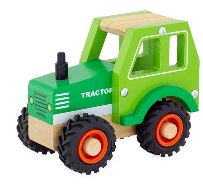 Holztraktor für Kinder