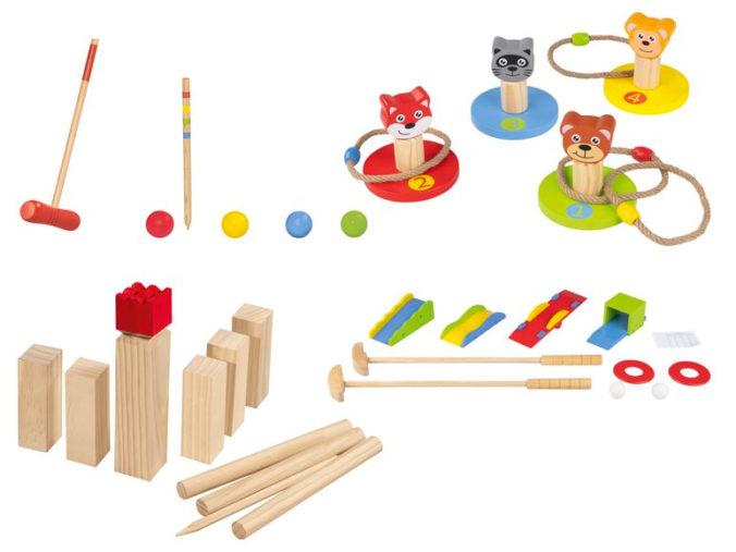 Holzspielzeuge für Kinder