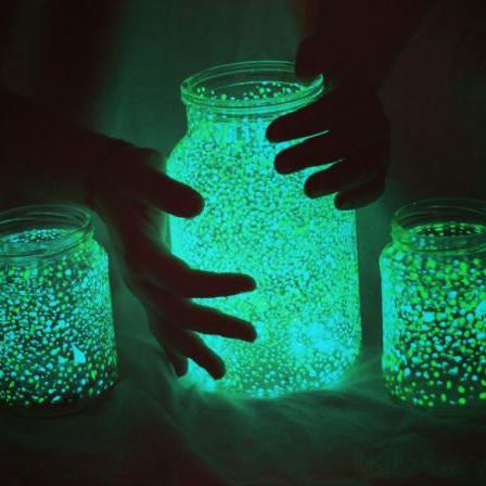 Floureszierndes Glas