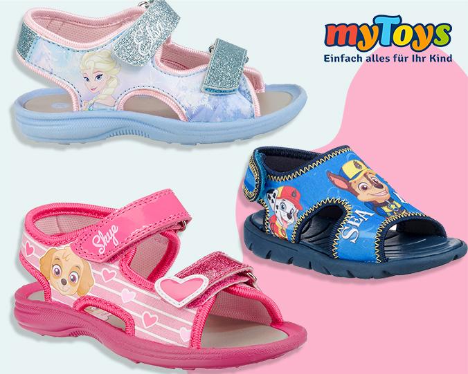 Paw Patrol und Frozen Sandalen für Kinder
