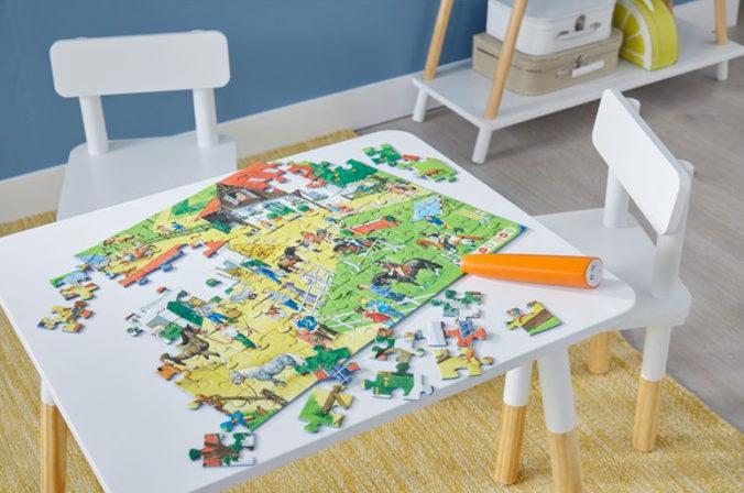 tiptoi Puzzle auf einem Tisch
