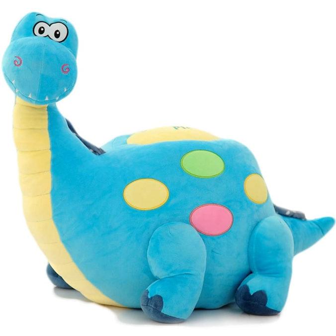 blauer Dino-Sessel für Kinder