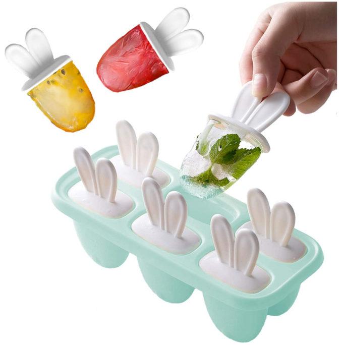 Miniformen für Eis am Stiel