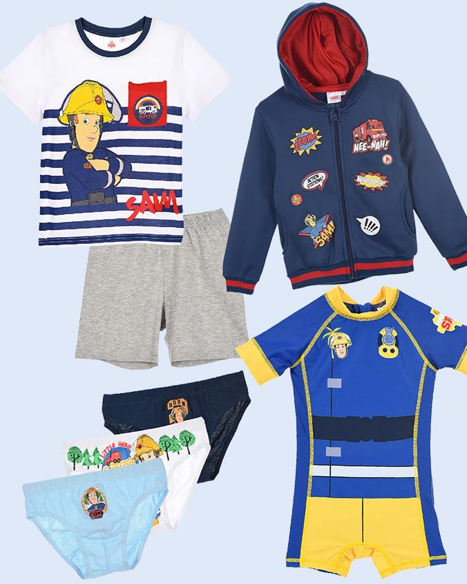 Feuerwehrmann Sam Mode für Kinder