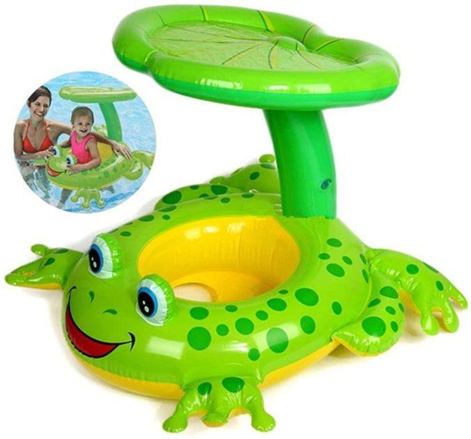 Frosch Schwimmhilfe