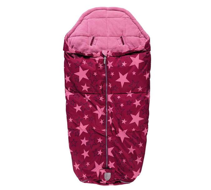 Pinker Fußsack für Kinderwagen