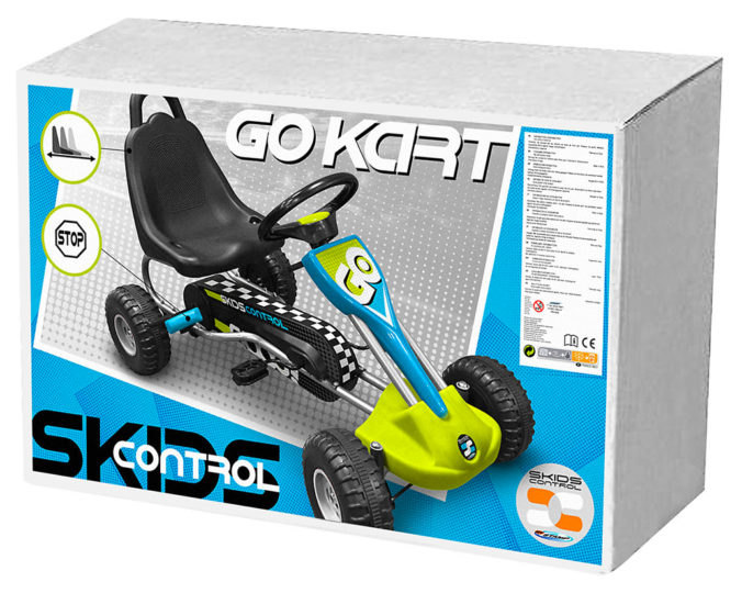 Stamp Go-Kart Skids Control