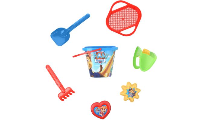 PAW Patrol Sandspielzeug-Set mit acht Teilen