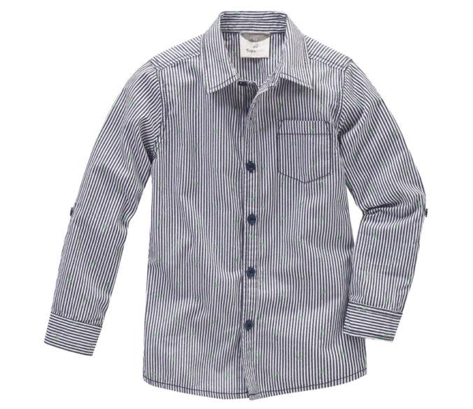gestreiftes Hemd für Jungen