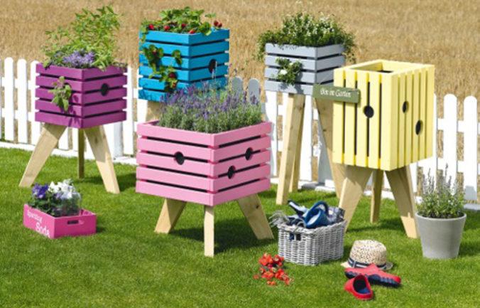 Hochbeetbauen