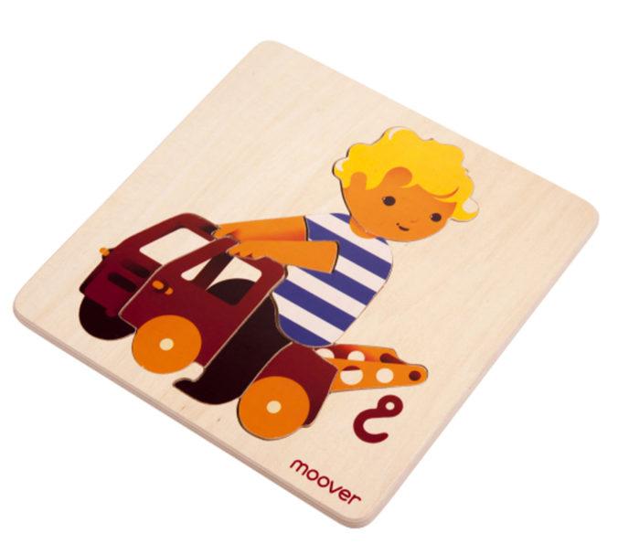Holzpuzzle für Kinder