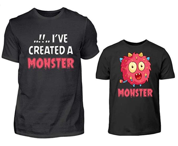 T-Shirts für Papa und Kind