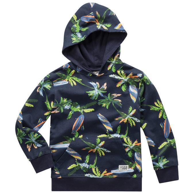 Pullover mit Palmen-Print für Jungen