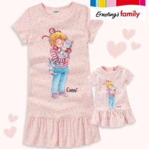 Ernsting's Family: Nachthemd + Puppennachthemden nur 12,99€