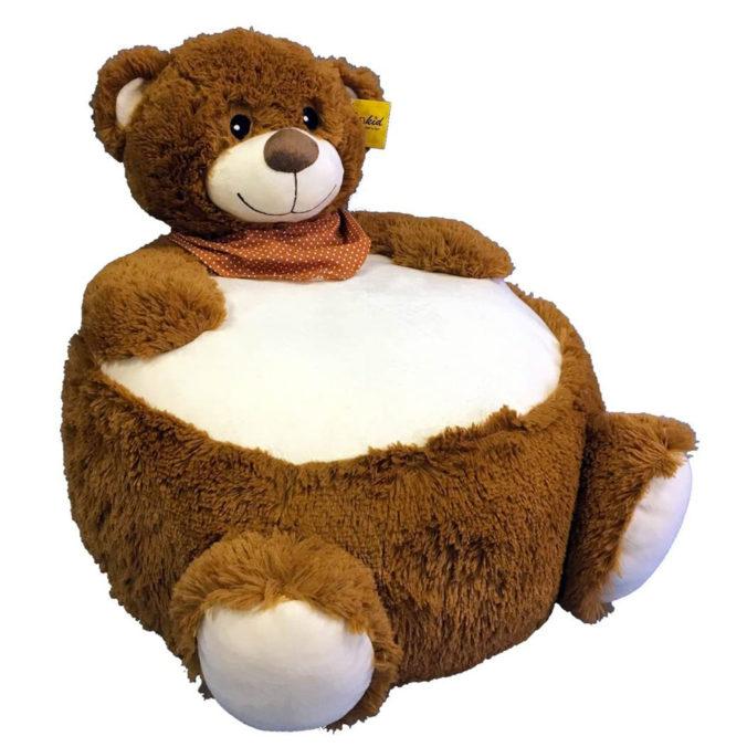 Sitzsack im Bärendesign für Kinder