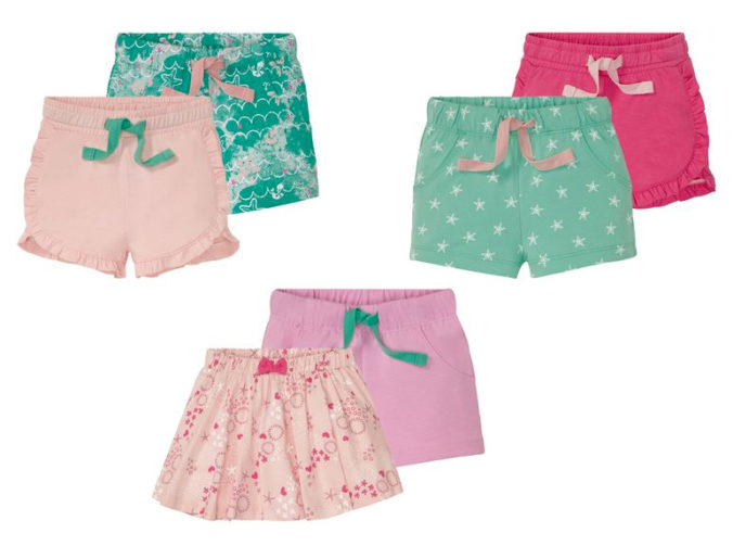 Shorts und Röcke für Mädchen