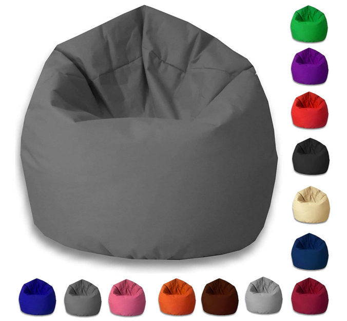 Sitzsäcke in verschiedenen Farben