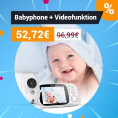 Baby und Babyphone